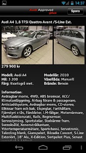 Audi Sverige - screenshot thumbnail