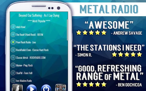 Free Metal Radio- screenshot thumbnail