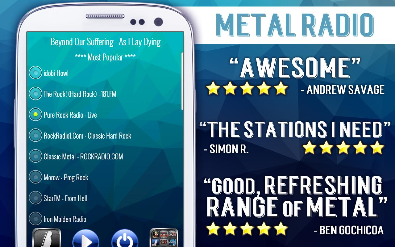Free Metal Radio- screenshot