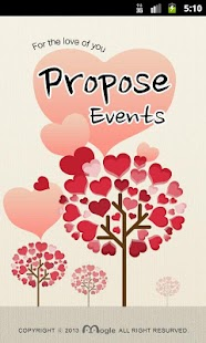Proposing Events - screenshot thumbnail