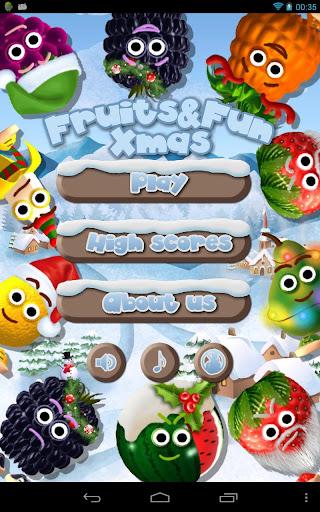 フルーツ&楽しいクリスマス