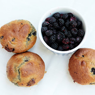 Whole Wheat Raspberry Muffins.