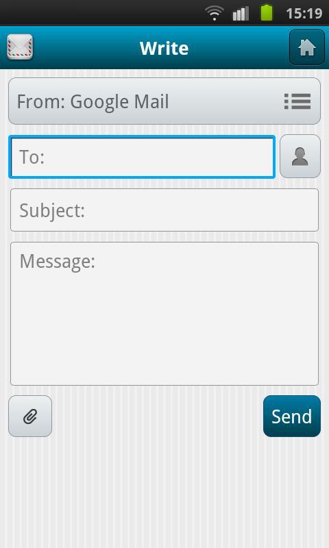 Calista Mail- screenshot