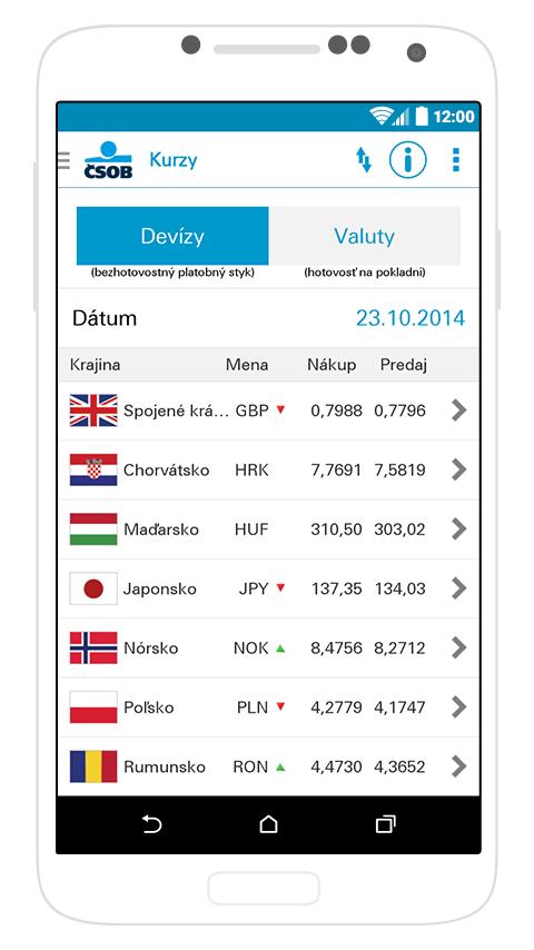 SmartBanking SK - screenshot