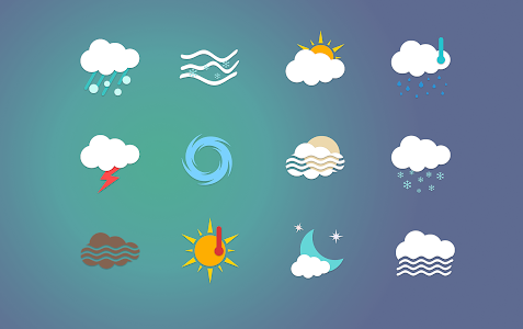 Chronus: Abhra Weather Icons screenshot 1