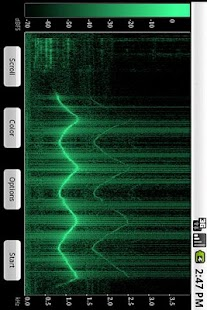 Spectral Audio Analyzer- screenshot thumbnail