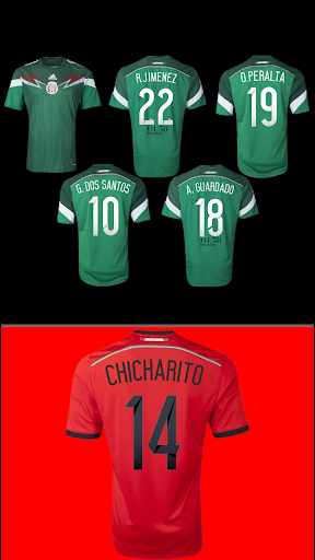Mexico 2014 Jersey Pack- uccw