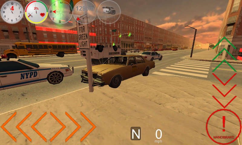 Duty Driver Taxi LITE - screenshot
