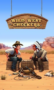 Wild West Checkers