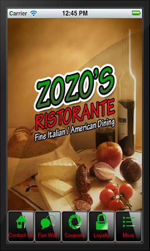 Zozo's Ristorante