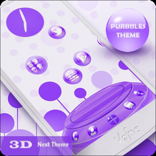 Next Launcher Theme Purbbles LOGO-APP點子