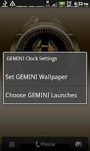 GEMINI - Zodiac Clock - screenshot thumbnail