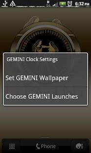 GEMINI - Zodiac Clock - screenshot thumbnail