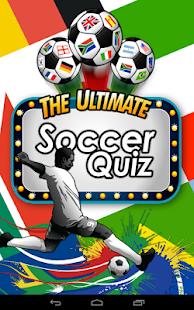 Ultimate Soccer Quiz
