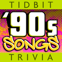 '90s Song Lyrics-Tidbit Trivia logo