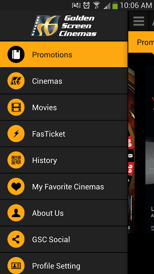 Golden Screen Cinemas - screenshot