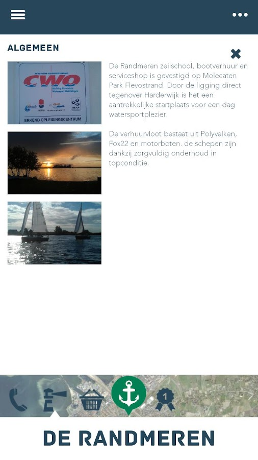 Randmeren VaarApp - screenshot