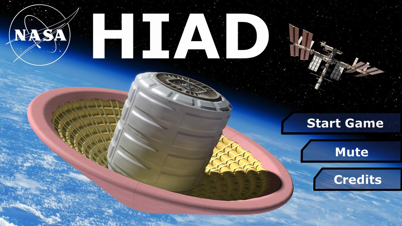 NASA HIAD- screenshot