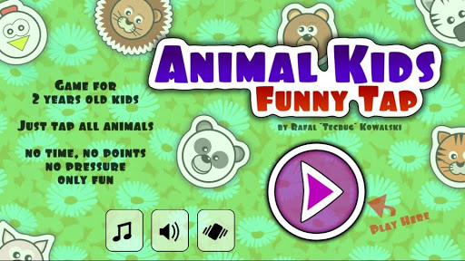 Animal Kids Funny Tap
