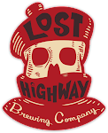 Logo for Lost Highway Brewing Company