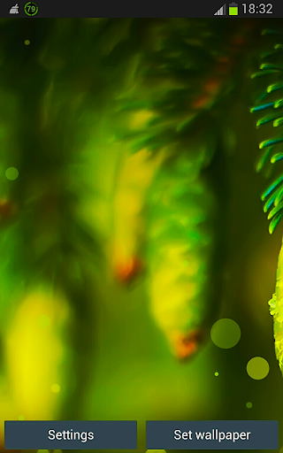 Green HD Nature Live Wallpaper