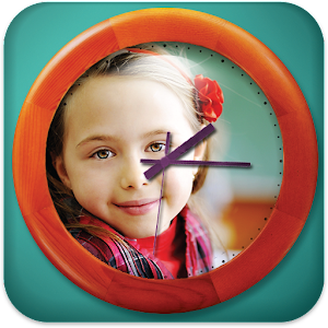 Photo Clock Frames Icon