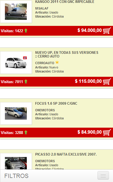 Cordoba Vende- screenshot