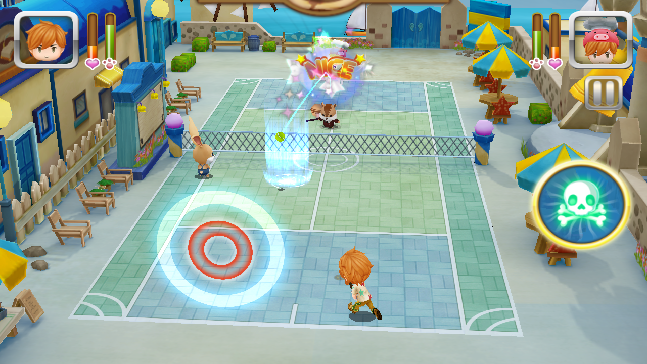 Ace of Tennis- screenshot