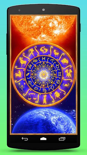 Space Zodiac Live Wallpaper
