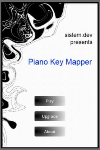 Piano Key Mapper - screenshot