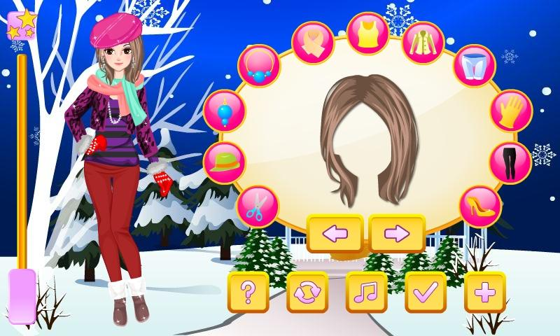 Chic Winter Trends Dress Up - screenshot