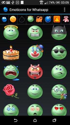 通訊必備APP下載|Smileys for Whatsapp 好玩app不花錢|綠色工廠好玩App