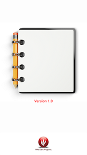 Notepad Text Organiser- screenshot thumbnail