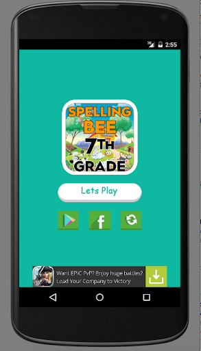 Spelling bee for seventh grade