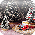 Christmas Santa Floating Gifts logo