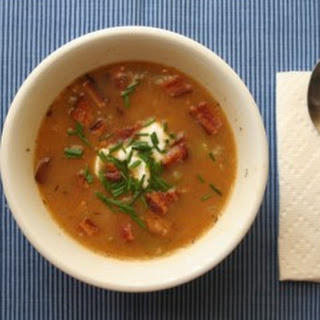 Spicy Corn Chowder with Bacon and Chives