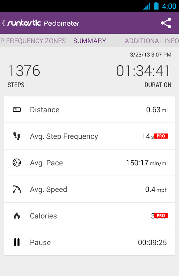 Runtastic Pedometer Step Count - Android Apps on Google Play