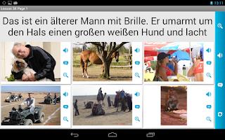 Screenshot of German in a Month