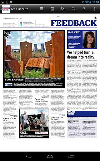 【免費新聞App】Evening Gazette Newspaper-APP點子