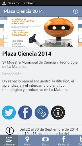 Plaza Ciencia 2014