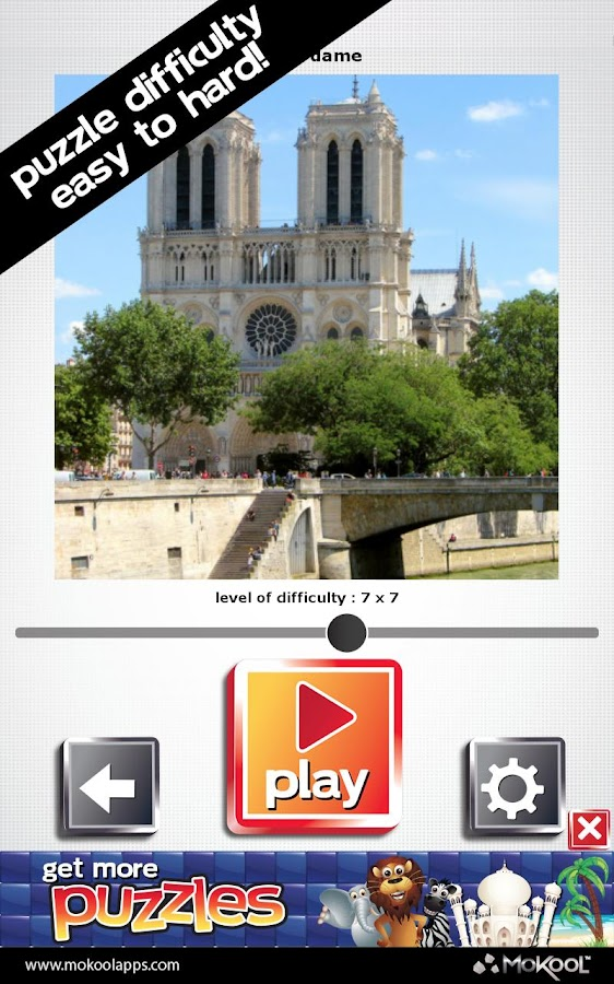 Paris & France Puzzles - screenshot
