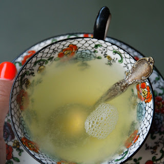 Flu Season Ginger Honey Lemon Tonic