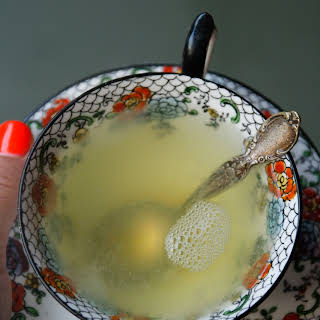 Flu Season Ginger Honey Lemon Tonic.