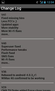 AOSP oICS NS4G ROM Toolbox - screenshot thumbnail