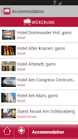 Screenshot of Würzburg - mobile travel guide