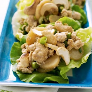 Lorraine Wallace's Chicken and Cashews in Lettuce Cups