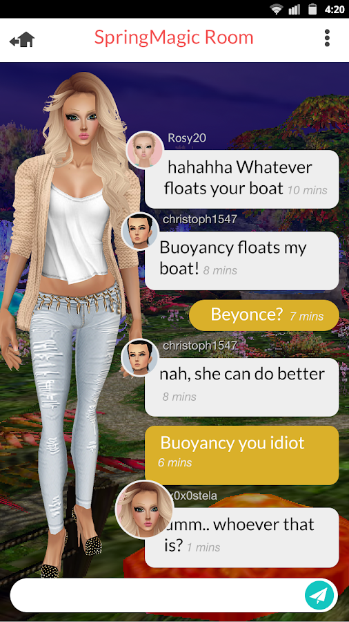 How to use imvu mobile
