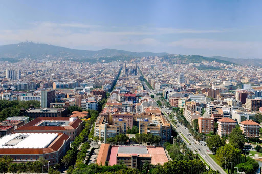 Barcelona-cityscape - The Barcelona cityscape. The capital of Catalonia, Barcelona is Spain's second largest city and brims with history and plenty of sights to take in.