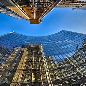 Building & reflection by Nizam Akanjee - Buildings & Architecture Other Exteriors (  )