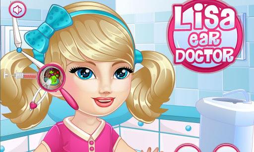 Baby Lisa Ear Doctor
